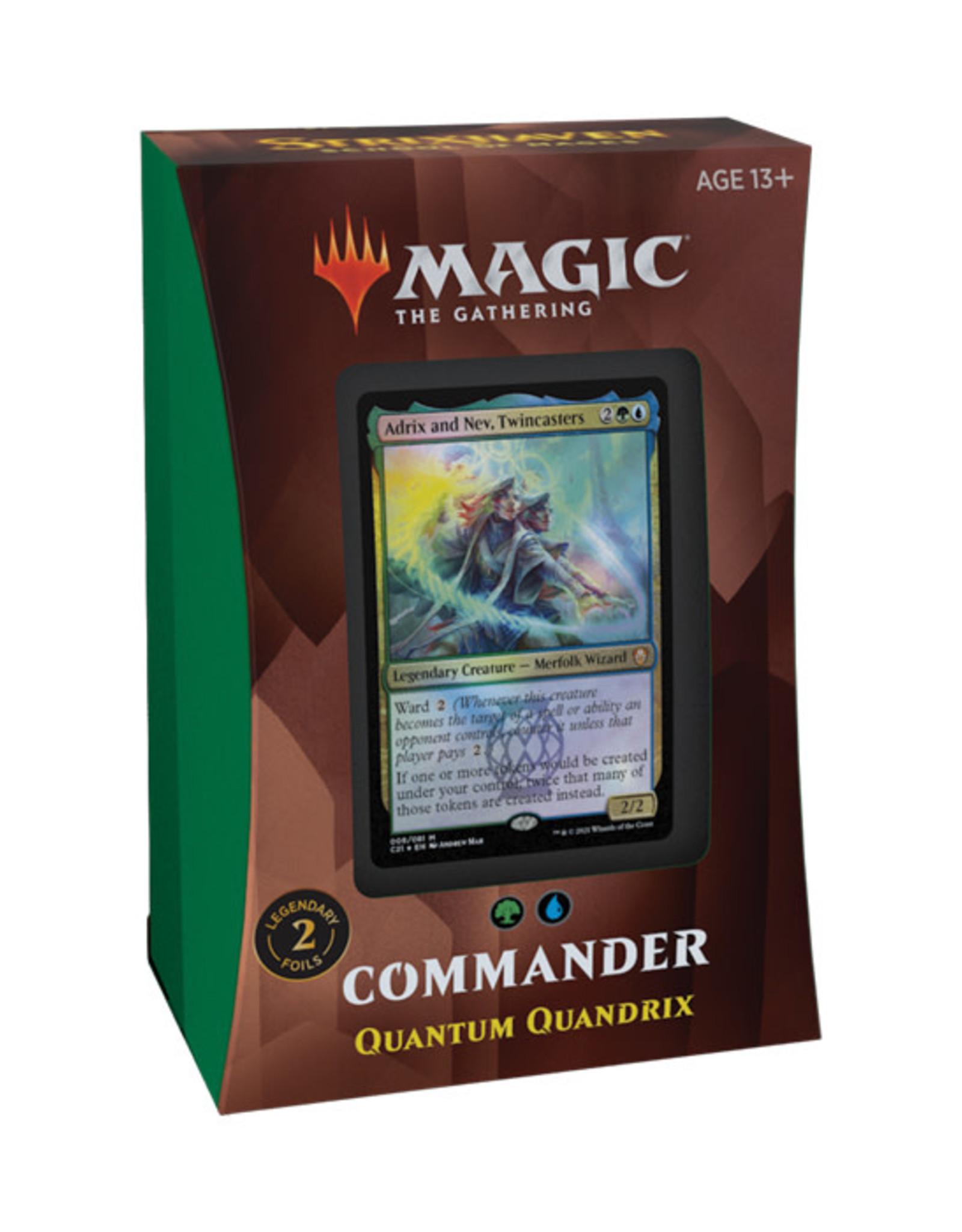Magic: The Gathering Magic: The Gathering - Strixhaven - Commander Deck - Quantum Quandrix