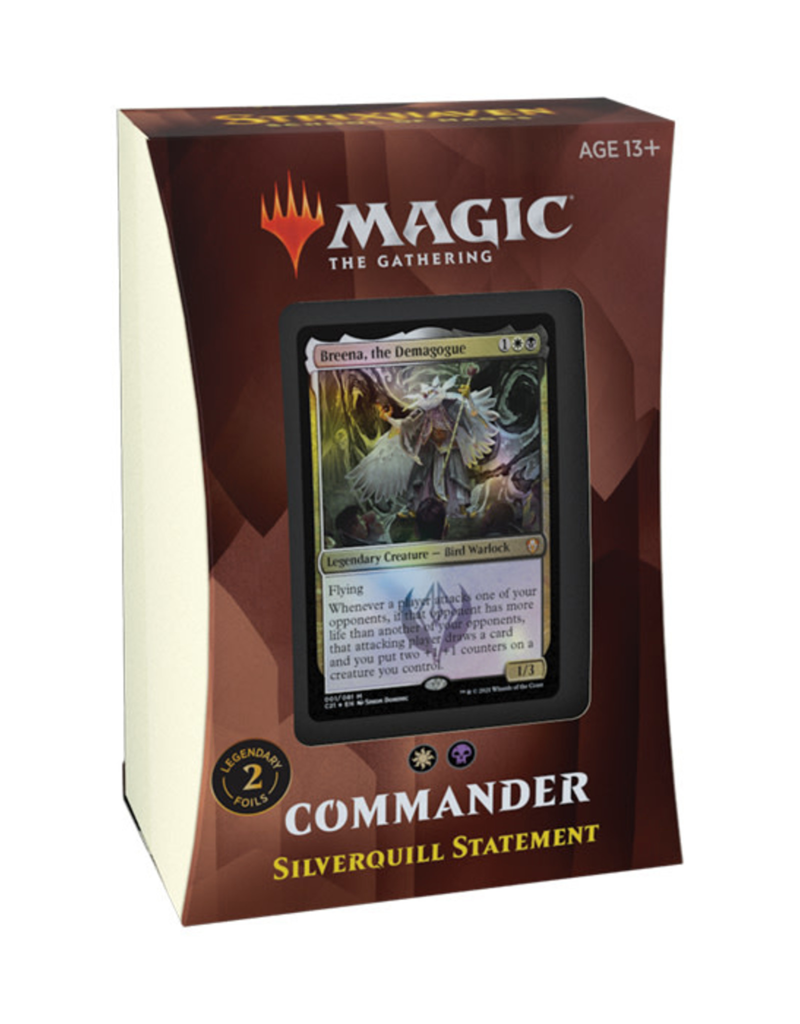 Magic: The Gathering Magic: The Gathering - Strixhaven - Commander Deck - Silverquill Statement