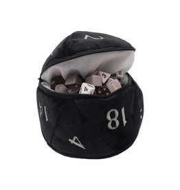 Ultra Pro Ultra Pro: Dice Bag - D20 - Black