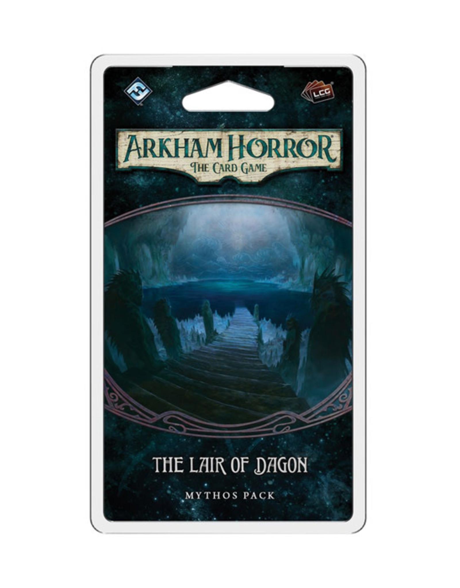 Arkham Horror Arkham Horror: The Card Game - Mythos Pack - The Lair of Dagon