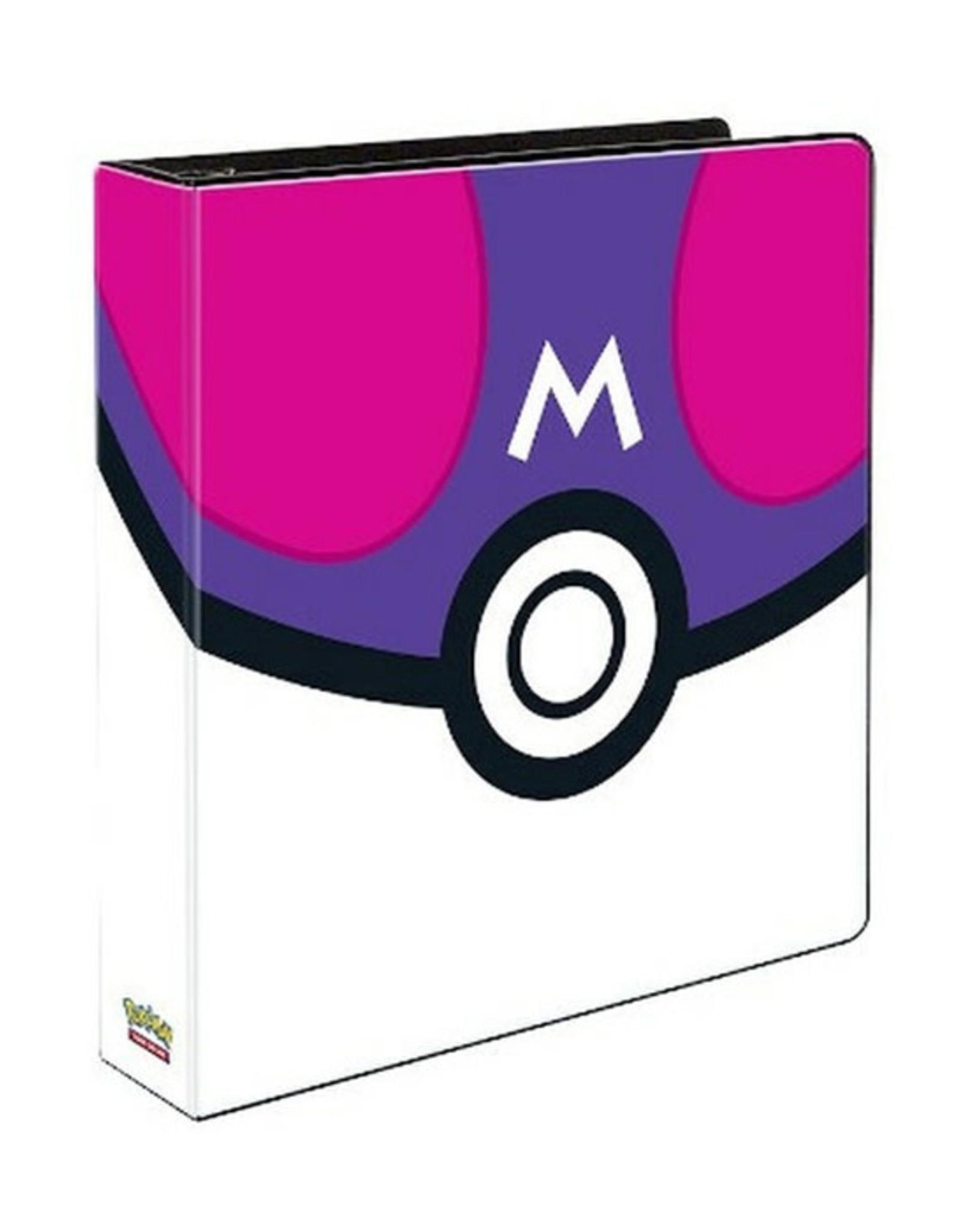"Ultra Pro Ultra Pro: Album - 2"" Ring - Pokemon - Master Ball"
