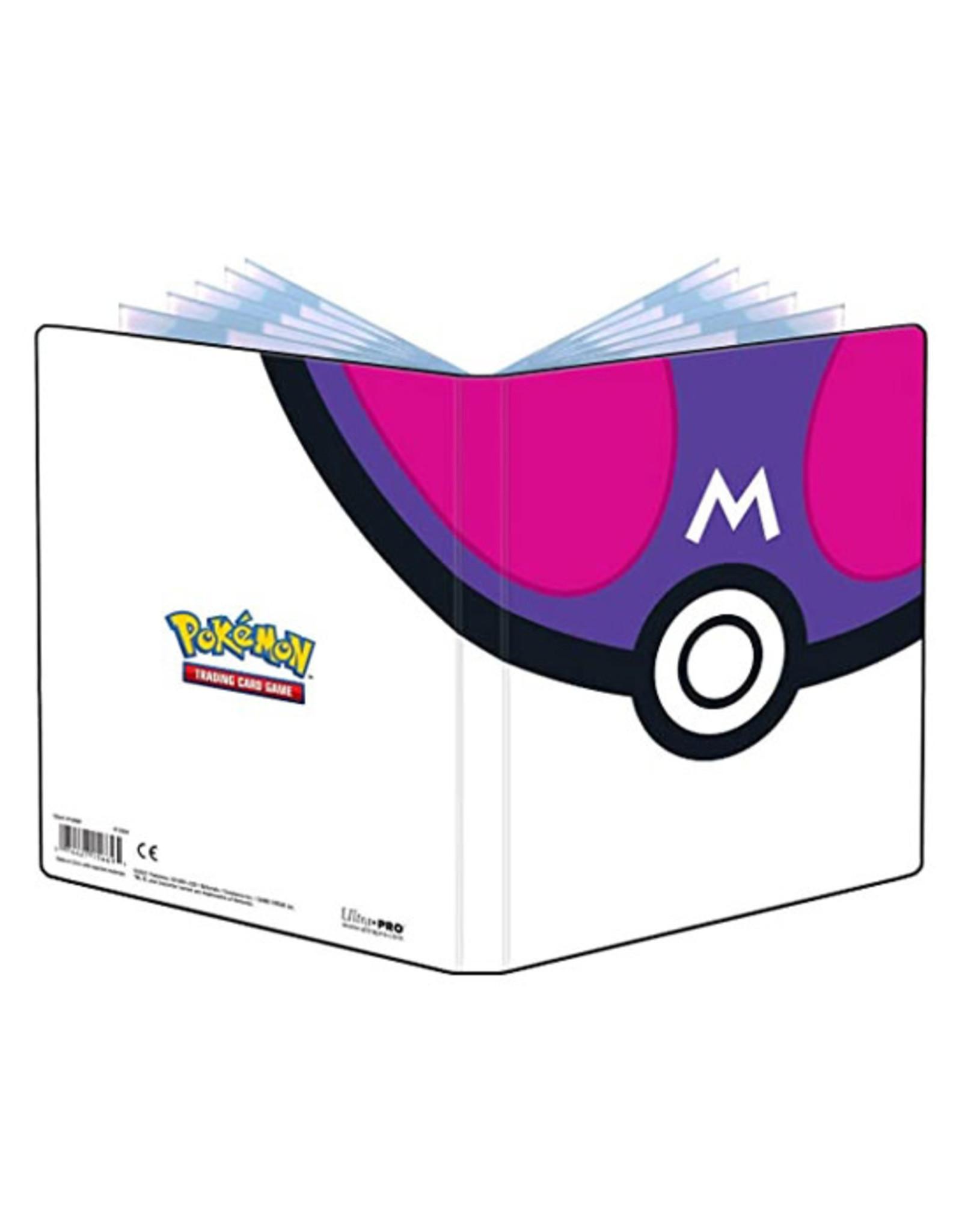 Ultra Pro Ultra Pro: Portfolio - 4-Pocket - Pokemon - Master Ball