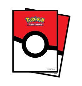 Ultra Pro Ultra Pro: Sleeves - Standard - Pokemon - Pokeball (65)