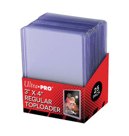 Ultra Pro Ultra Pro: Top Loader - 3x4 Clear - Regular (25)
