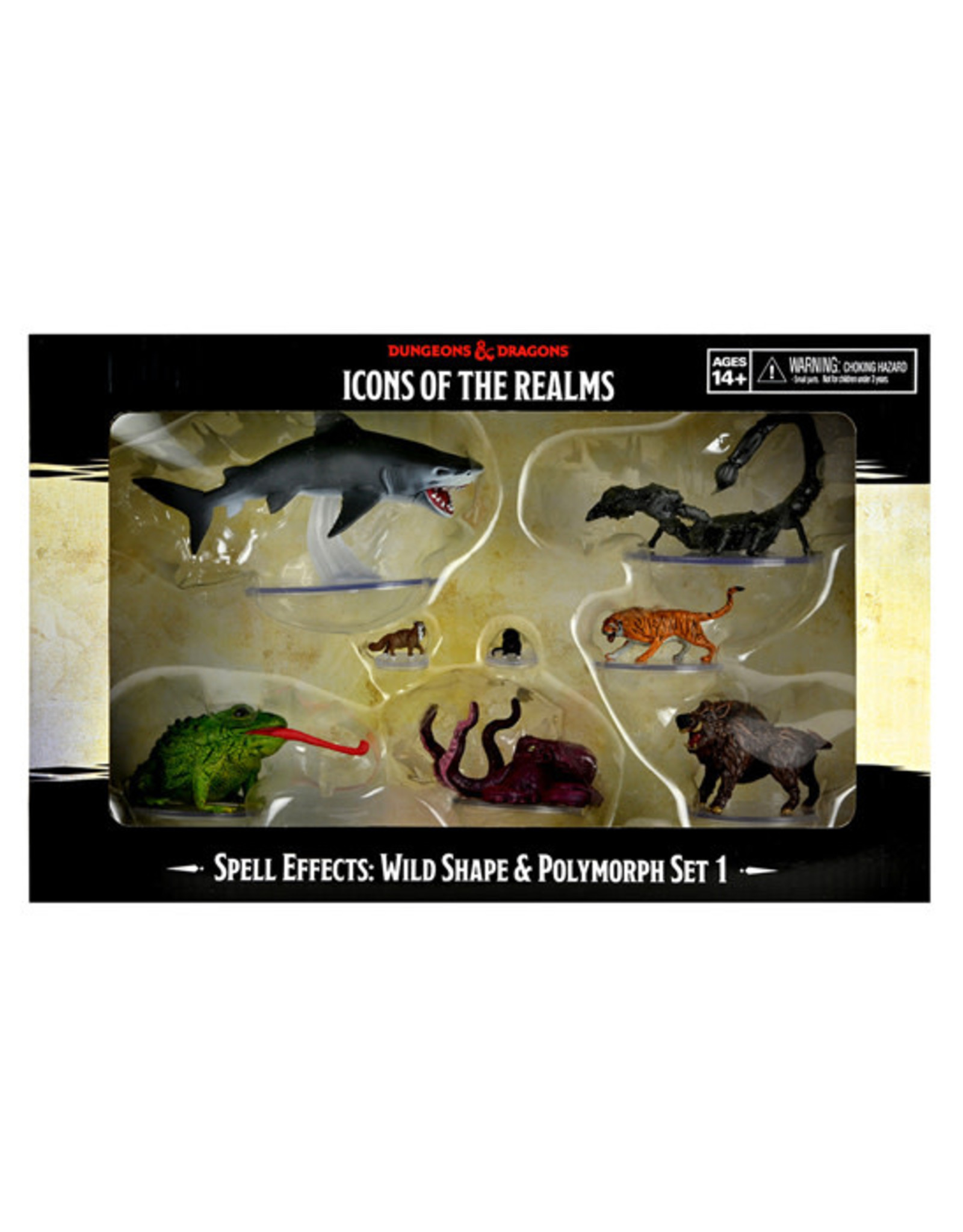 Dungeons & Dragons Dungeons & Dragons: Spell Effects - Wild Shape & Polymorph - Set 1