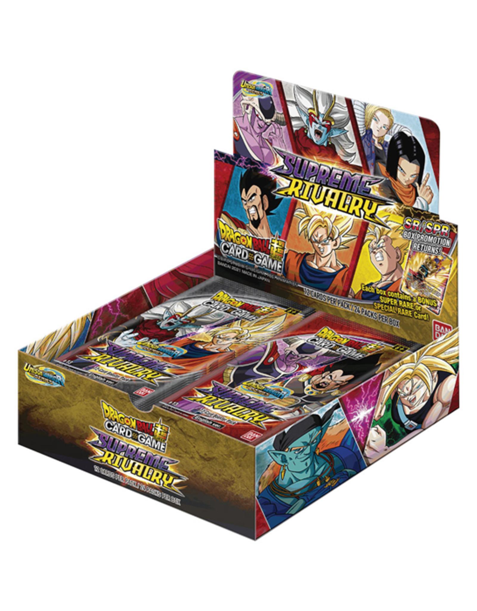 Bandai Dragon Ball Super: The Card Game - Supreme Rivalry - Booster Box