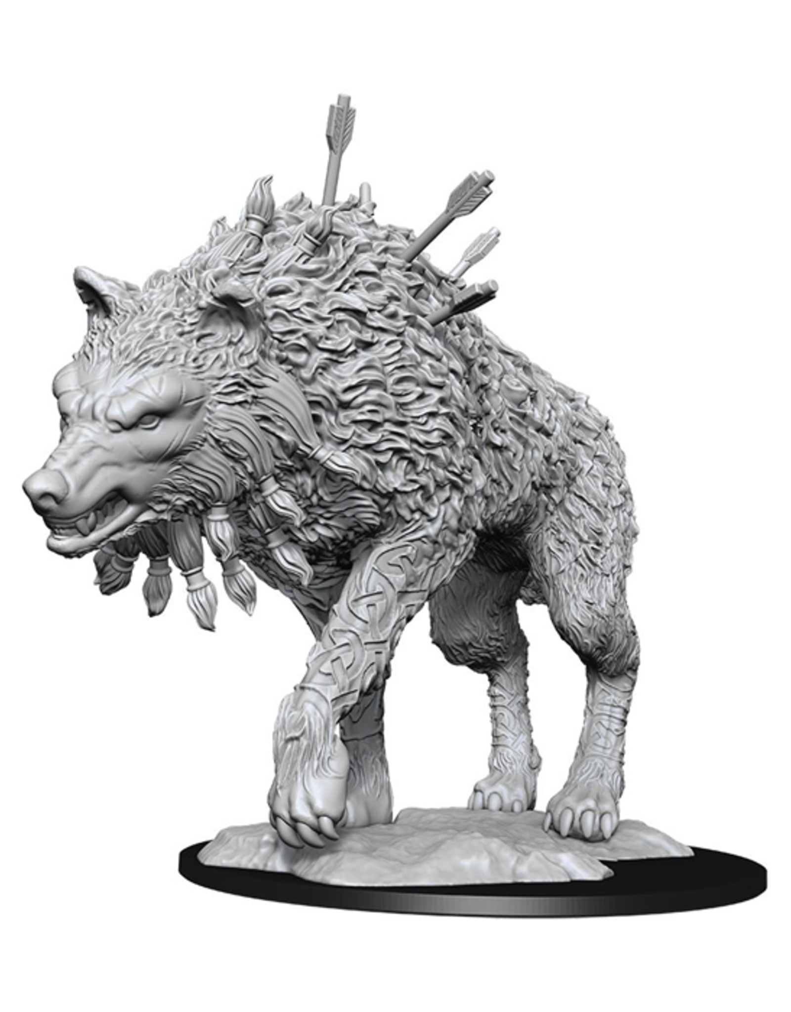 WizKids Magic: The Gathering - Unpainted Miniatures - Cosmo Wolf