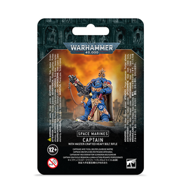 Games Workshop Warhammer 40K: Space Marines - Captain w/ Master-Crafted Heavy Bolt Rifle