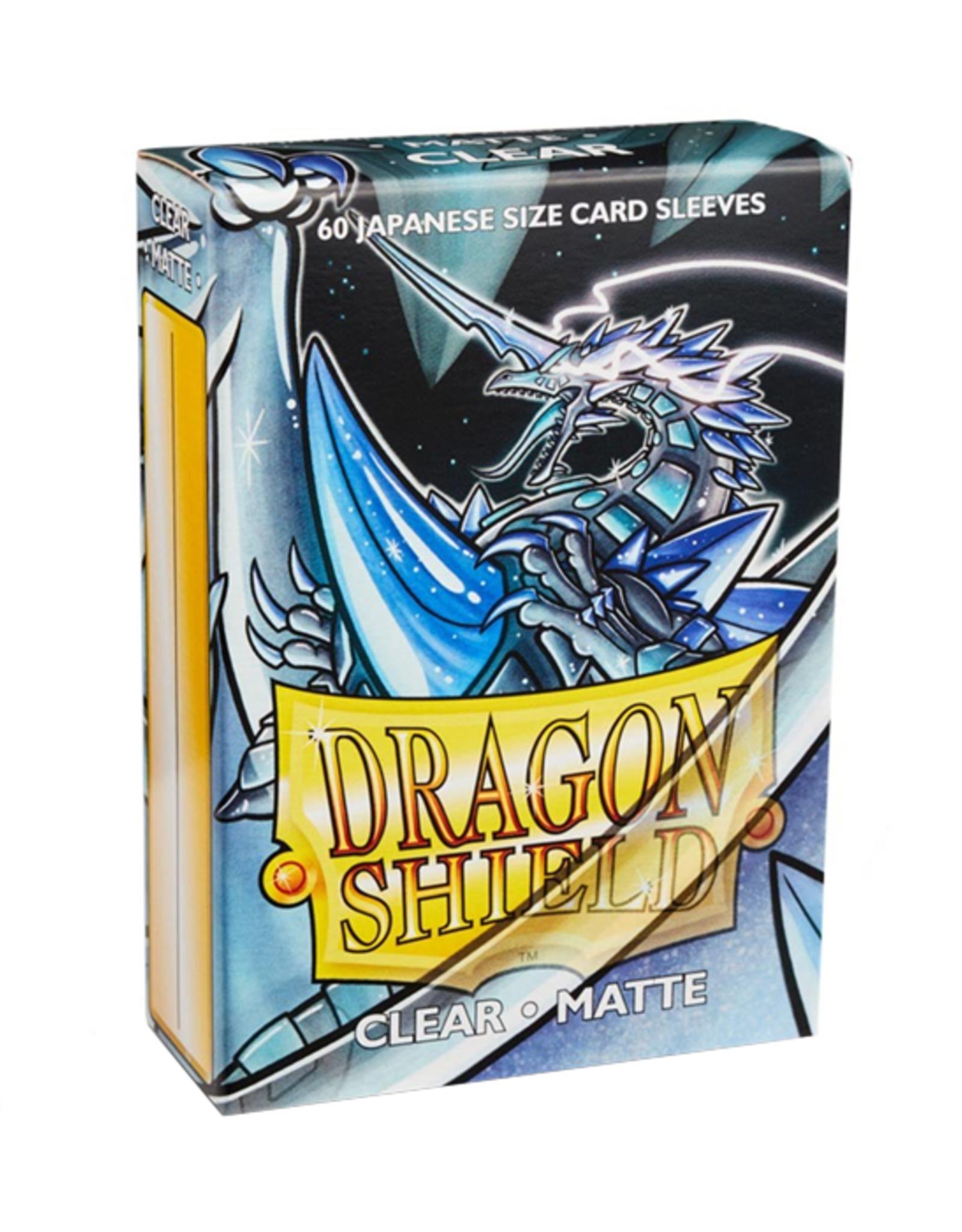 Dragon Shield Dragon Shield: Sleeves - Small - Matte - Clear (60)