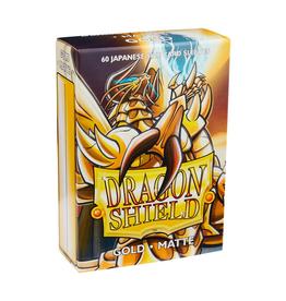 Dragon Shield Dragon Shield: Sleeves - Small - Matte - Gold (60)