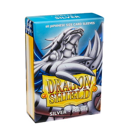 Dragon Shield Dragon Shield: Sleeves - Small - Matte - Silver (60)