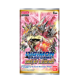 Bandai Digimon TCG: Great Legend - Booster Pack