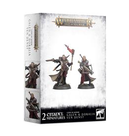 Games Workshop Warhammer: Age of Sigmar - Cities of Sigmar - Galen & Doralia Ven Denst