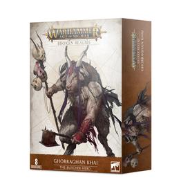 Games Workshop Warhammer: Age of Sigmar - Broken Realms - Ghorraghan Khai - The Butcher-Herd