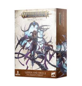 Games Workshop Warhammer: Age of Sigmar - Broken Realms - Luxion and Vresca - The Exquisite Pursuit