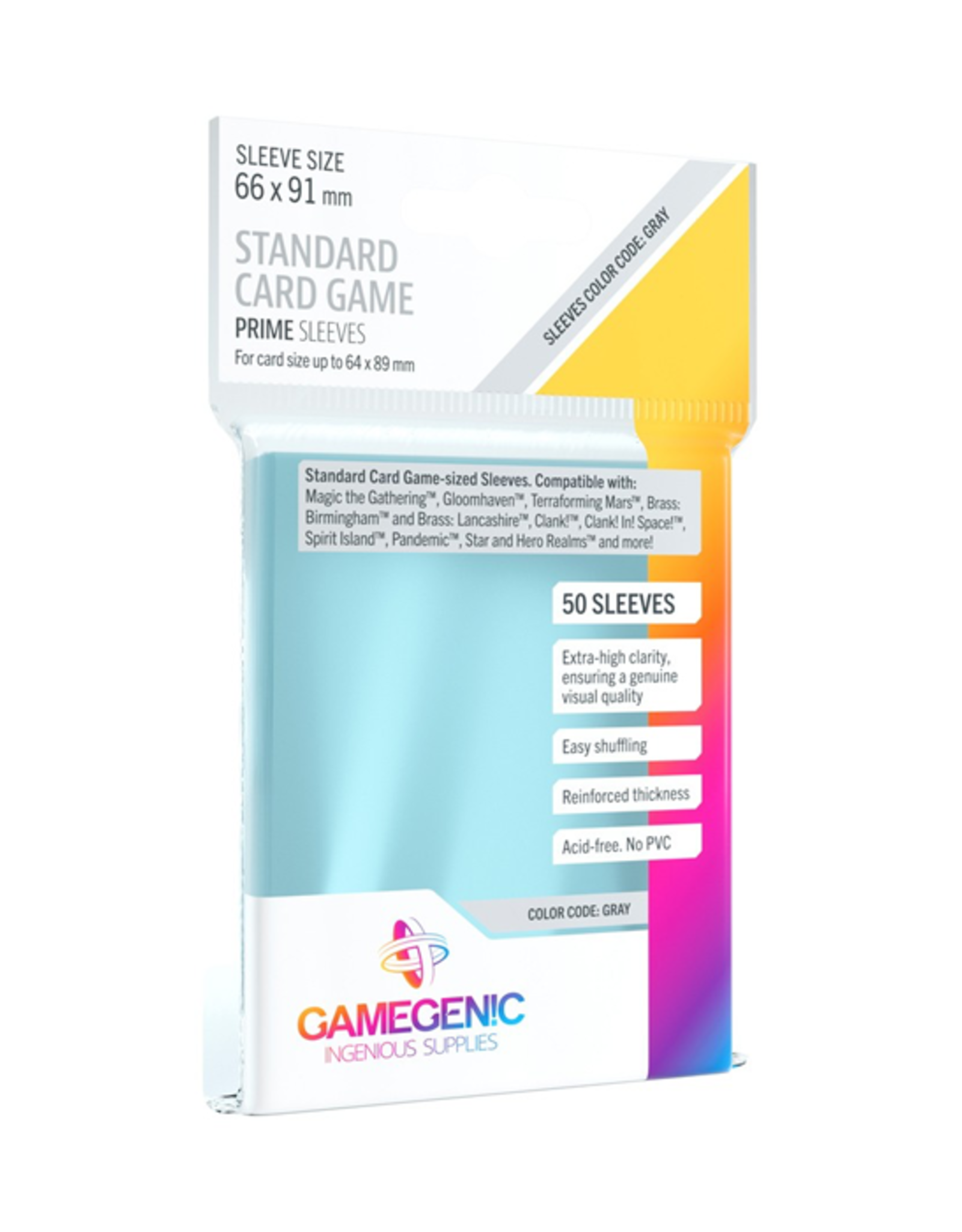 Gamegenic Gamegenic: Sleeves - Board Game - Standard Card Game