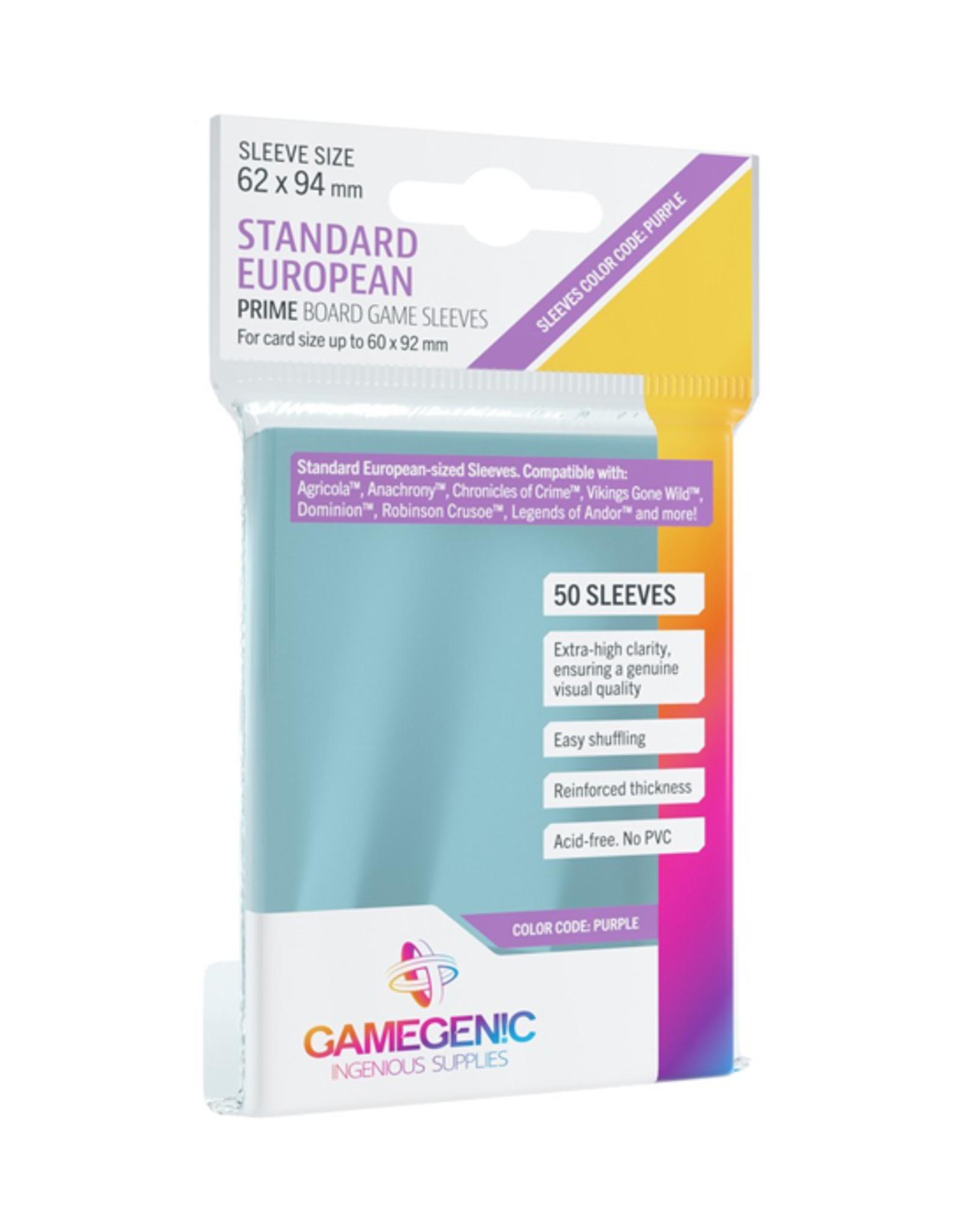 Gamegenic Gamegenic: Sleeves - Board Game - Standard European