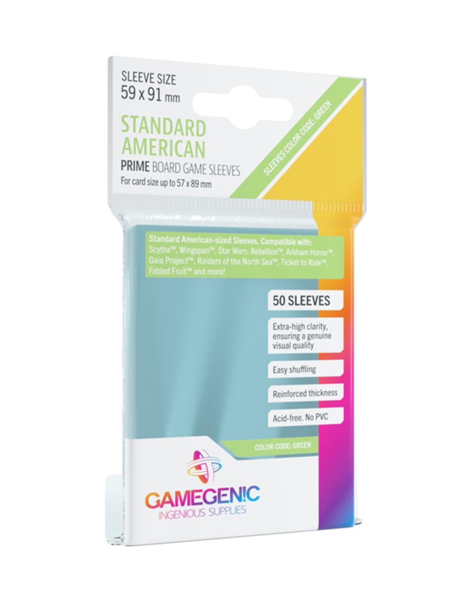 Gamegenic Gamegenic: Sleeves - Board Game - Standard American