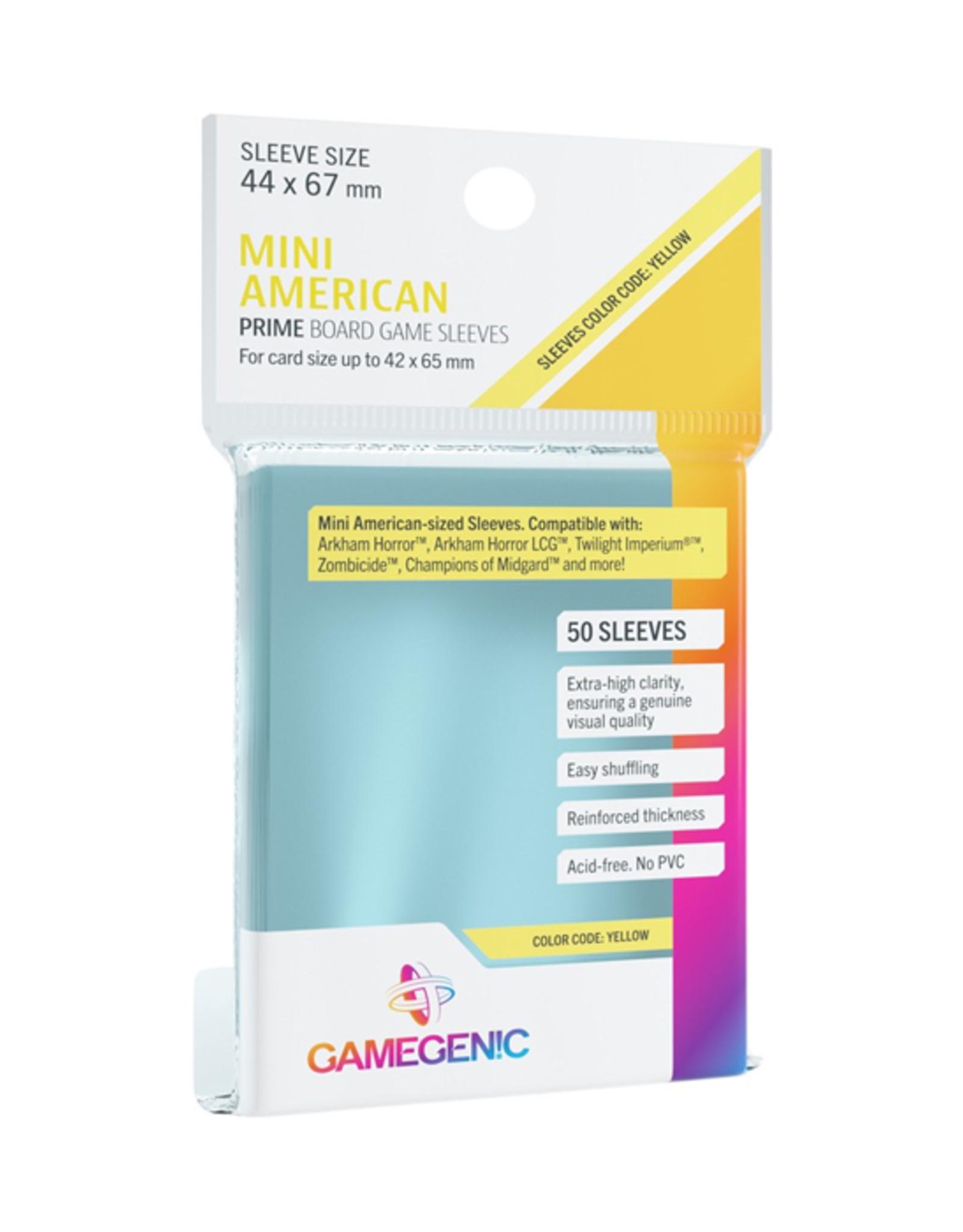 Gamegenic Gamegenic: Sleeves - Board Game - Mini American