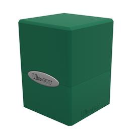Ultra Pro Ultra Pro: Deck Box - Satin Cube - Forest Green