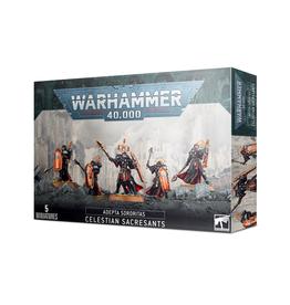 Games Workshop Warhammer 40K: Adepta Sororitas - Celestian Sacresants