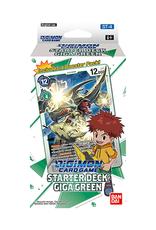 Bandai Digimon TCG: Starter Deck - Giga Green