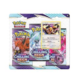 Pokemon Pokemon: Sword & Shield 6 - Chilling Reign - Three-Booster Blister