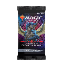 Magic: The Gathering Magic: The Gathering - Adventures in the Forgotten Realms - Set Booster Pack