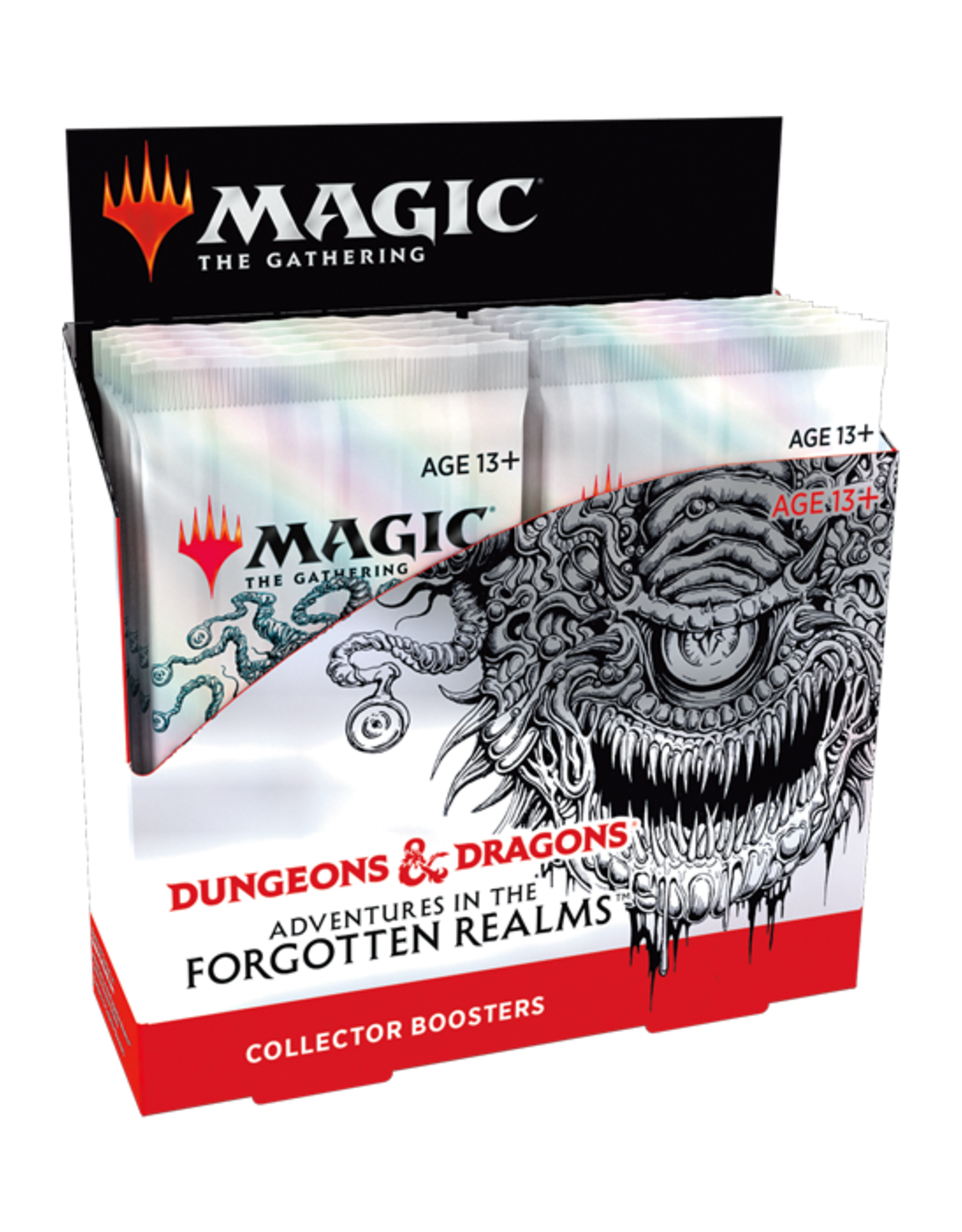 Magic: The Gathering Magic: The Gathering - Adventures in the Forgotten Realms - Collector Booster Box