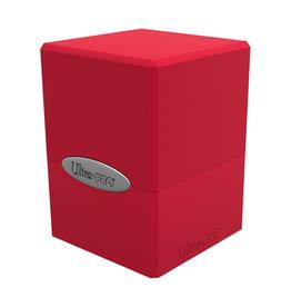Ultra Pro Ultra Pro: Deck Box - Satin Cube - Apple Red