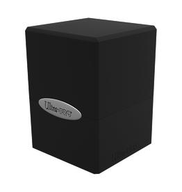 Ultra Pro Ultra Pro: Deck Box - Satin Cube - Jet Black