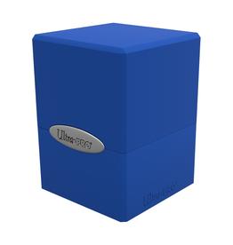 Ultra Pro Ultra Pro: Deck Box - Satin Cube - Pacific Blue