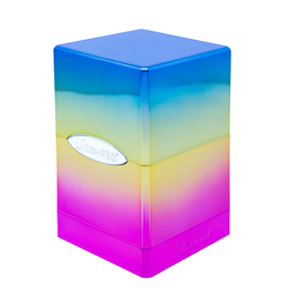 Ultra Pro Ultra Pro: Deck Box - Satin Tower - Hi-Gloss - Rainbow