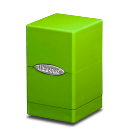 Ultra Pro Ultra Pro: Deck Box - Satin Tower - Lime Green