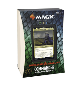 Magic: The Gathering Magic: The Gathering - Adventures in the Forgotten Realms - Commander Deck - Aura of Courage