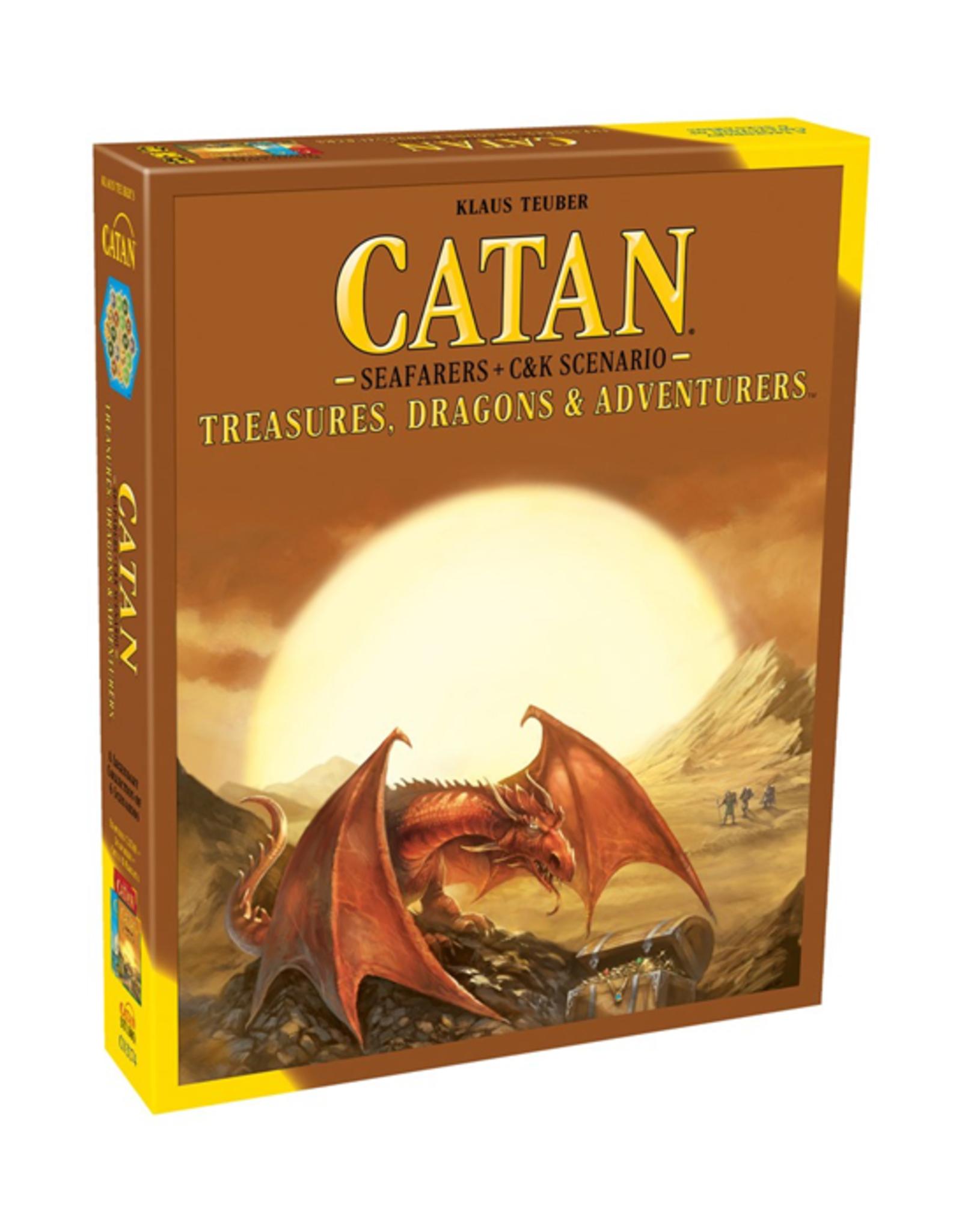 Catan: Treasures, Dragons, & Adventurers