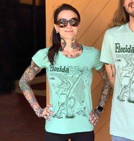 TATE'S Slimfit Scoopneck - Florida Loki TATE'S Shirt Pre-Order