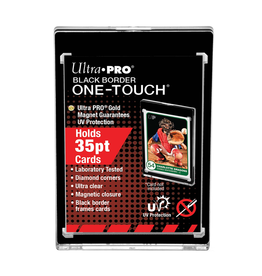 Ultra Pro Ultra Pro: One-Touch Magentic Card holder - 35pt - Black