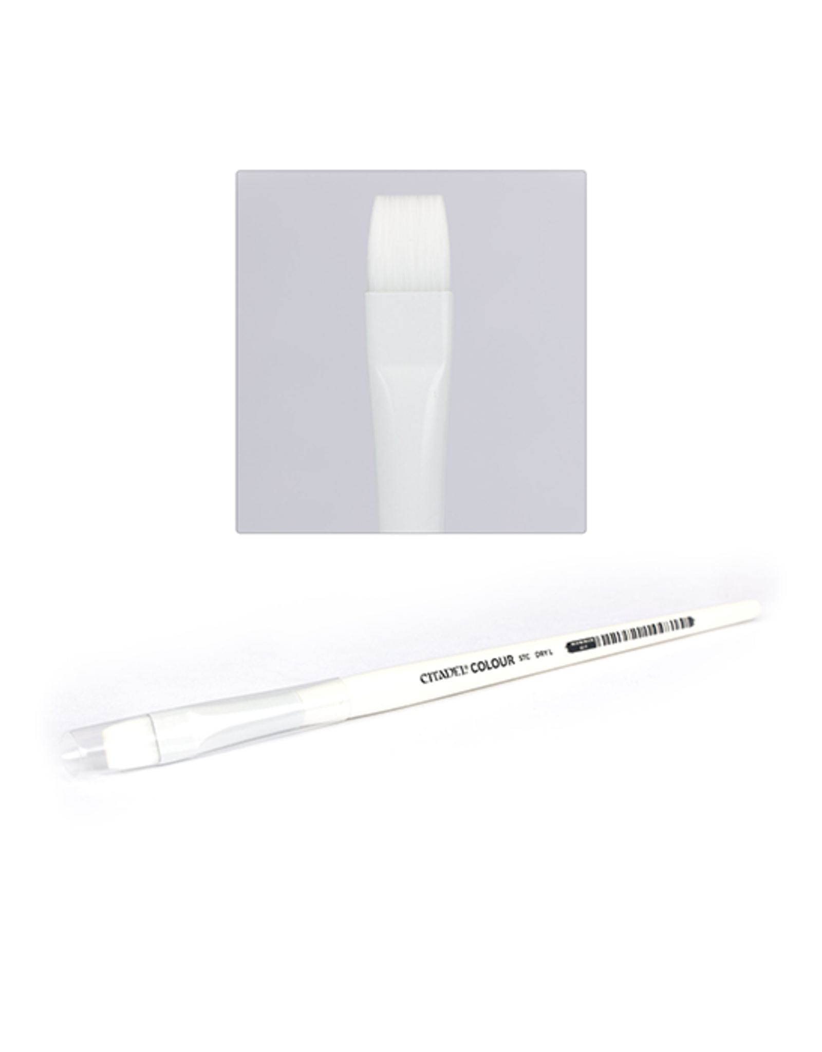 Citadel Citadel: Paint Brush - Synthetic - Dry - Large