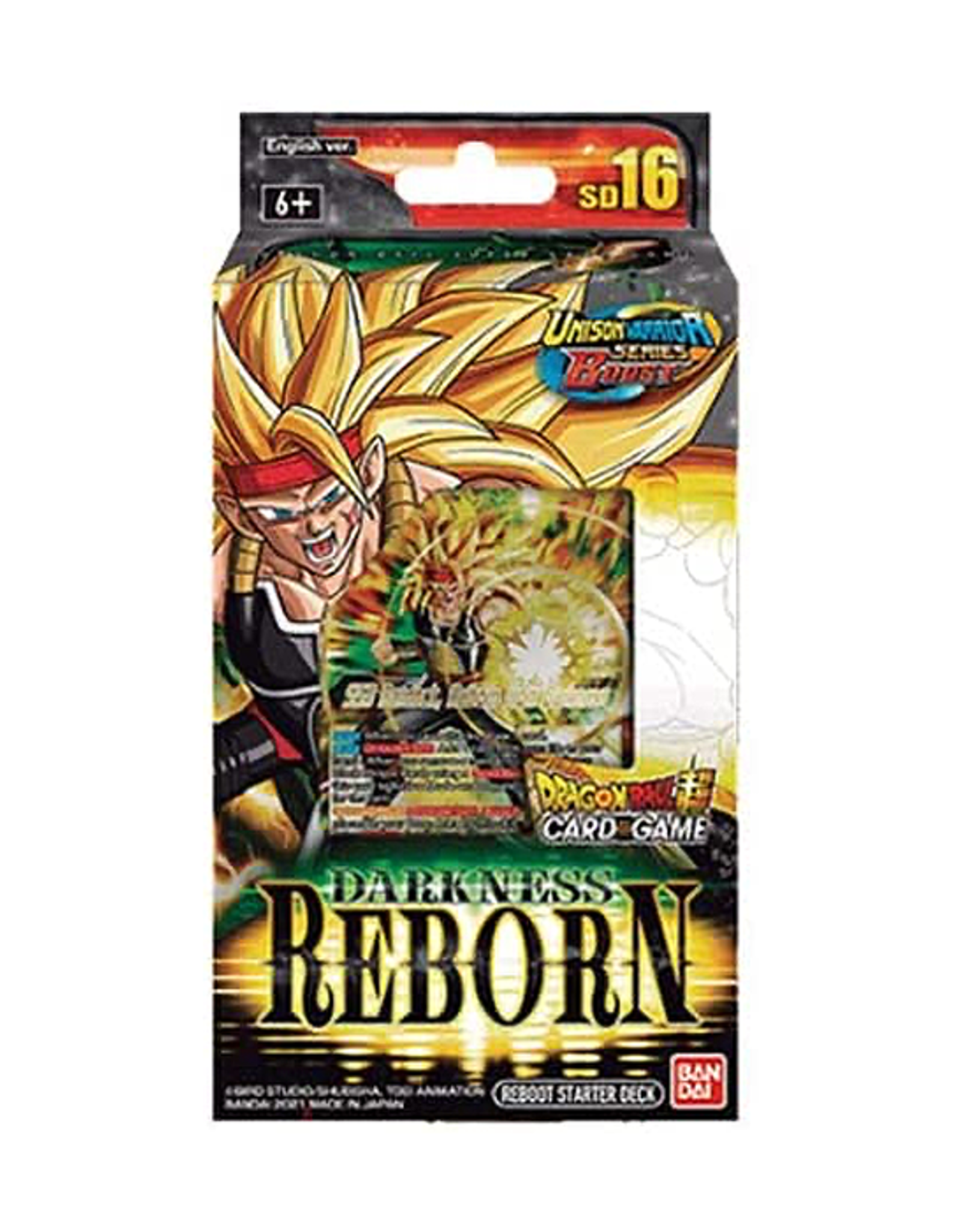 Bandai Dragon Ball Super: The Card Game - Starter Deck - Darkness Reborn