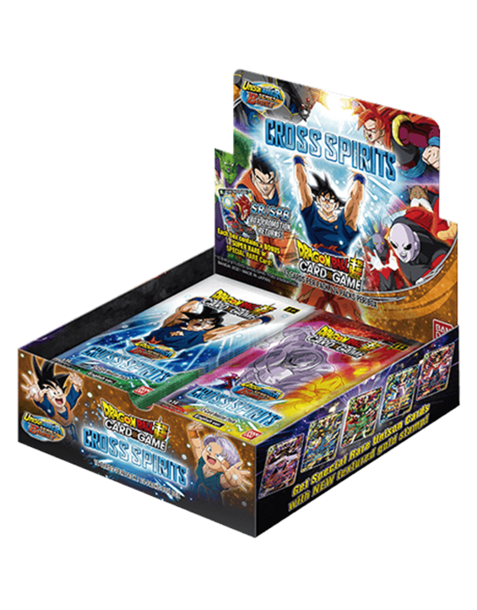 Bandai Dragon Ball Super: The Card Game - Cross Spirits - Booster Box