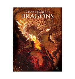Dungeons & Dragons Dungeons & Dragons: 5th Edition - Fizban's Treasury of Dragons - Alternate Art Cover