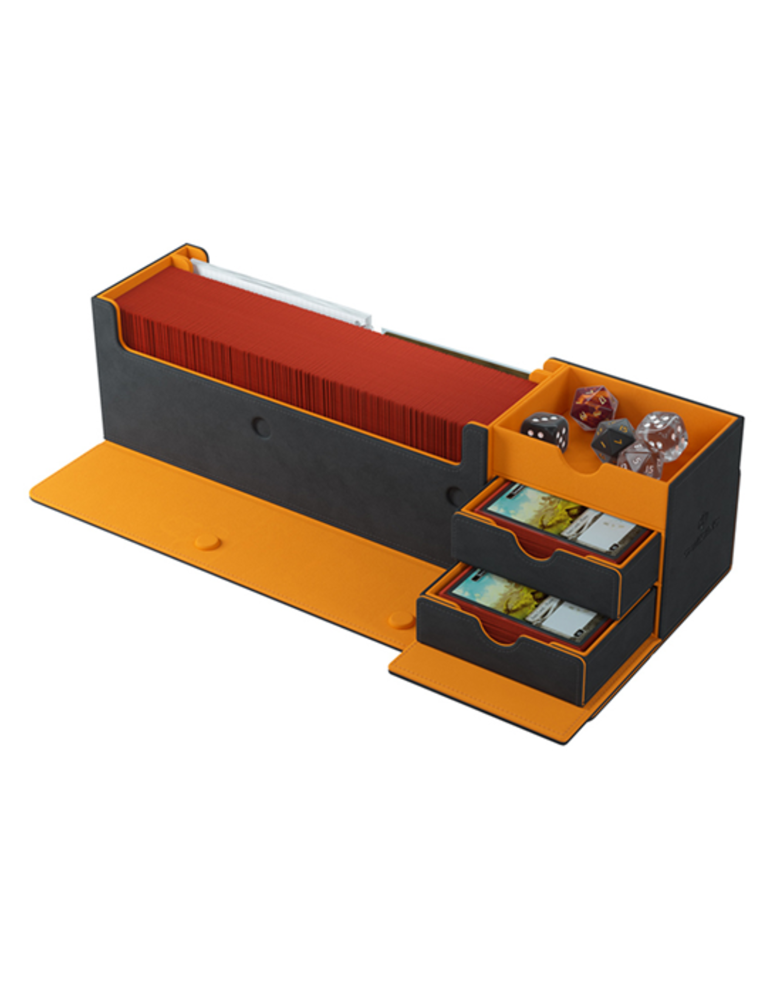 Gamegenic Gamegenic: Deck Box - Cards Lair 400+ - Black / Orange