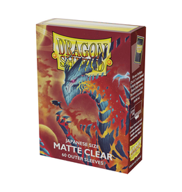 Dragon Shield Dragon Shield: Sleeves - Small - Outer - Matte - Clear