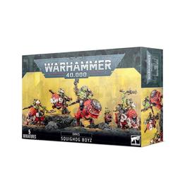 Games Workshop Warhammer 40K: Orks - Squighog Boyz