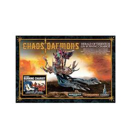 Games Workshop Warhammer: Chaos Daemons - Herald of Tzeentch on Burning Chariot