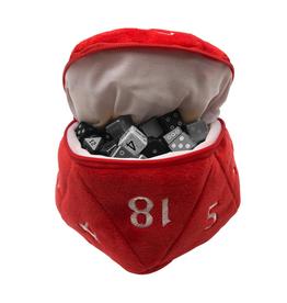 Ultra Pro Ultra Pro: Dice Bag - D20 - Red