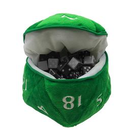 Ultra Pro Ultra Pro: Dice Bag - D20 - Green