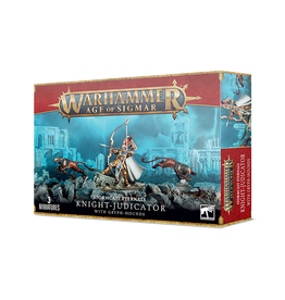 Games Workshop Warhammer: Age of Sigmar - Stormcast Eternals - Knight-Judicator with Gryph-Hounds