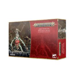 Games Workshop Warhammer: Age of Sigmar - Orruk Warclans - Break-Boss on Mirebrute Trogg